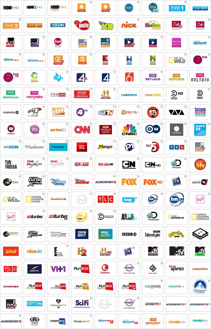 Kanały telewizji cyfrowej w ofercie BlueNet w Lublinie